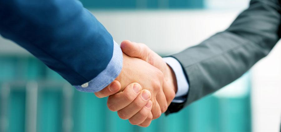 lean handshake