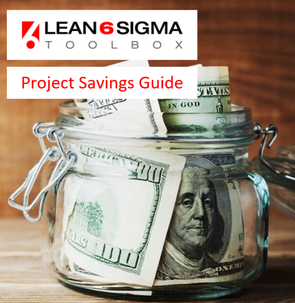 lean six sigma toolbox project savings guide